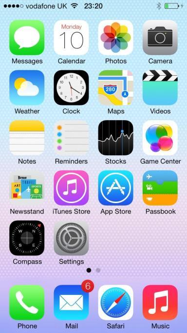 Il Design di iOS 7: Una Analisi di UI e UX