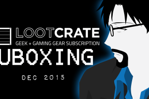 Loot Crate Unboxing – Merry Christmas December 2015 [RtG]