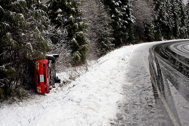 Accident Voiture Neige