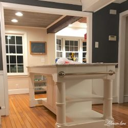 Endearing I Am Happy To Announce We Are More Than Halfway Through Our Kitchen Remodeland We Kitchen Renovation Progress A New Kitchen Island Lehman Lane Long Island Kitchen Renovation N Island Kitchen kitchen Kitchen Island Renovation