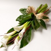 funeral flowers Calla-Lily-Sheaf