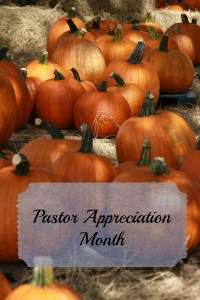 pastor appreciation pumpkins