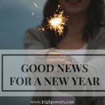 Good News for a New Year