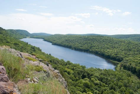Porcupine Mountains State Park / Lake of the Clouds
