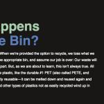Infographie : Surprenant! Recycler le plastique est complexe. Voici ce qui se passe après les vidanges.