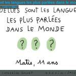 Vidéo pour les jeunes (01.00) Quelles sont les langues les plus parlées dans le monde ?