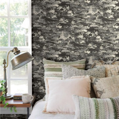 Homestead Wallpaper from Joanna Gaines' Magnolia Home by York