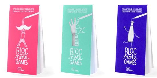 bloc note games