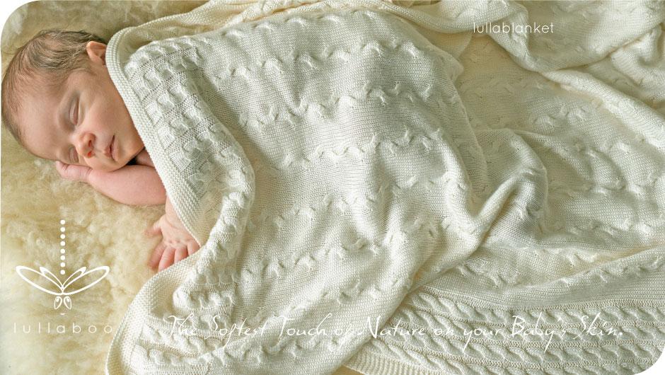 lullaboo couverture gigoteuse bébé maman