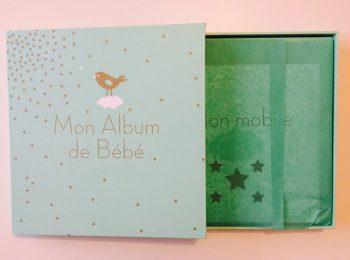 {Avis} Un chouette cadeau de naissance : Album bébé de Claire CURT