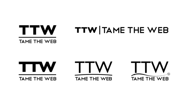 Tame The Web logo rev1 by John LeMasney via lemasney.com