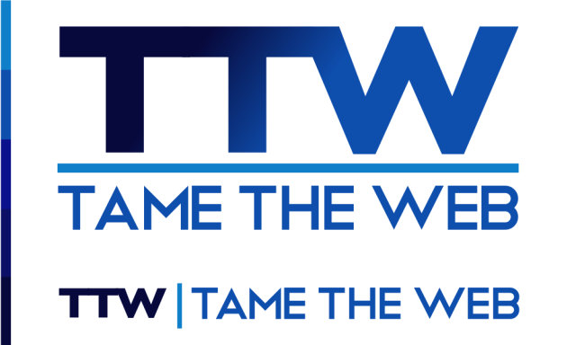 Tame The Web logo rev2 by John LeMasney via lemasney.com