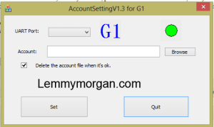azsky account setting tool