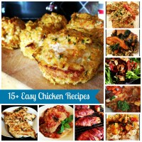 15+ Easy Chicken Recipes