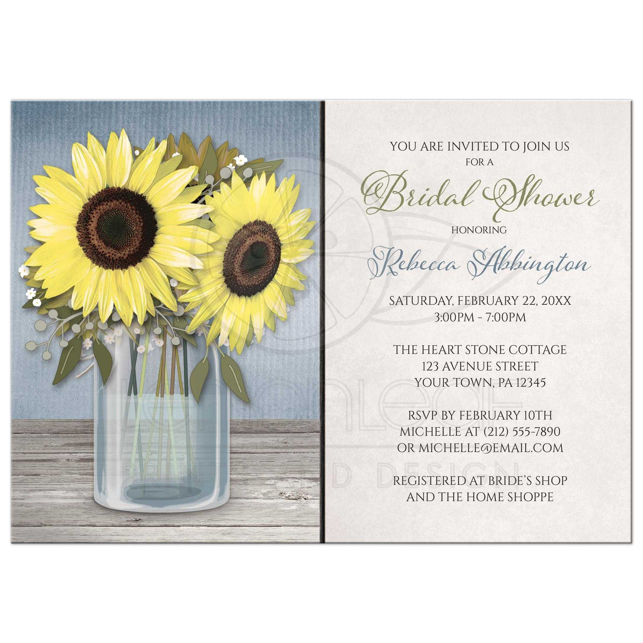 Fullsize Of Rustic Bridal Shower Invitations
