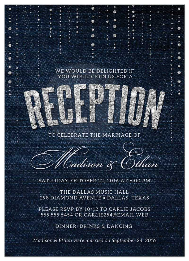 Large Of Wedding Reception Invitations