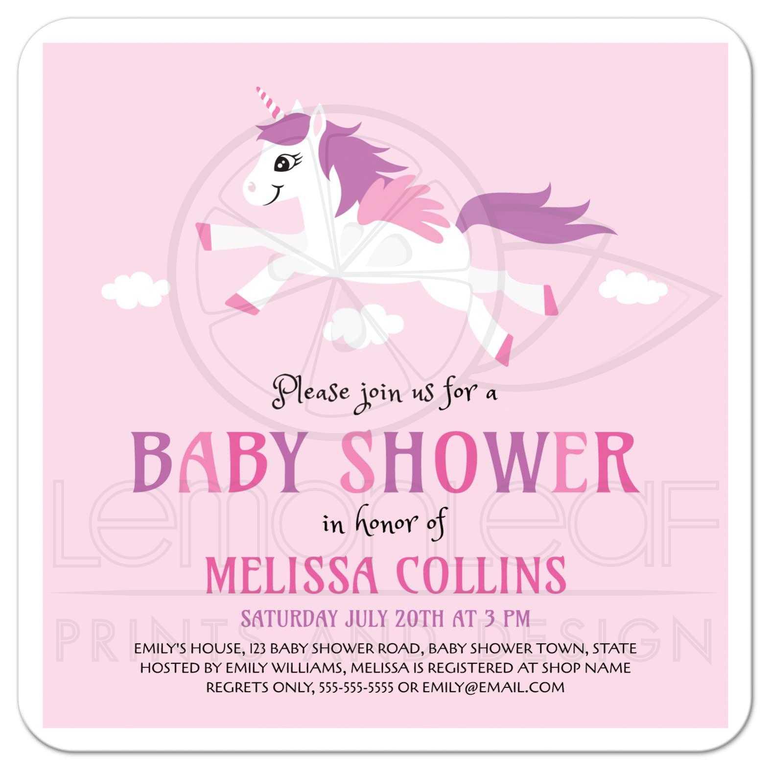 Fullsize Of Girl Baby Shower Invitations