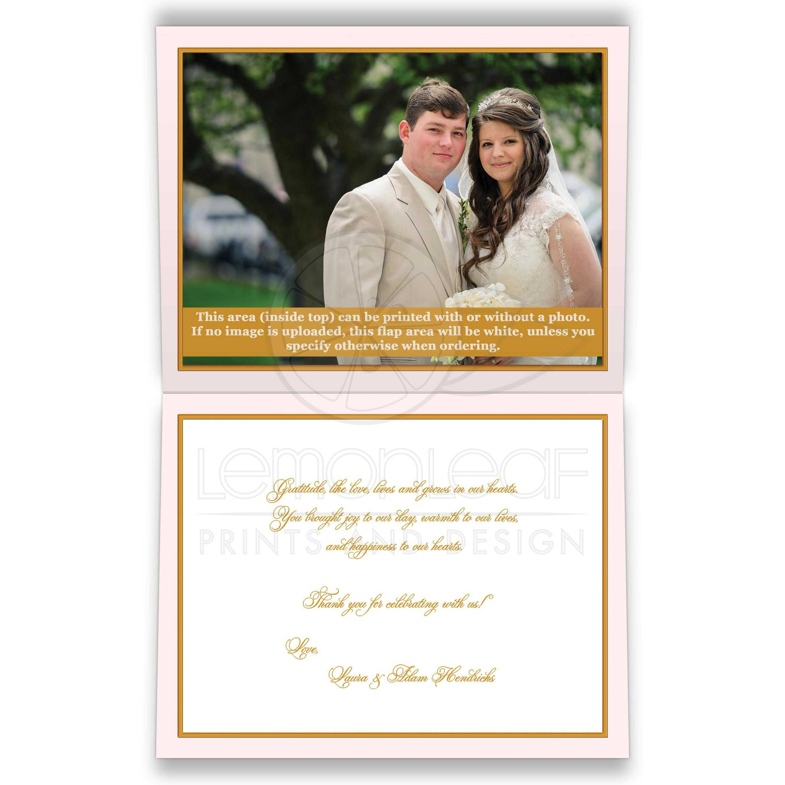 Genial 43829 Fedback Blush Pink Ivory G Floral Wedding Thank You Card A2lin Photo Thank You Cards Birthday Photo Thank You Cards Walmart cards Photo Thank You Cards