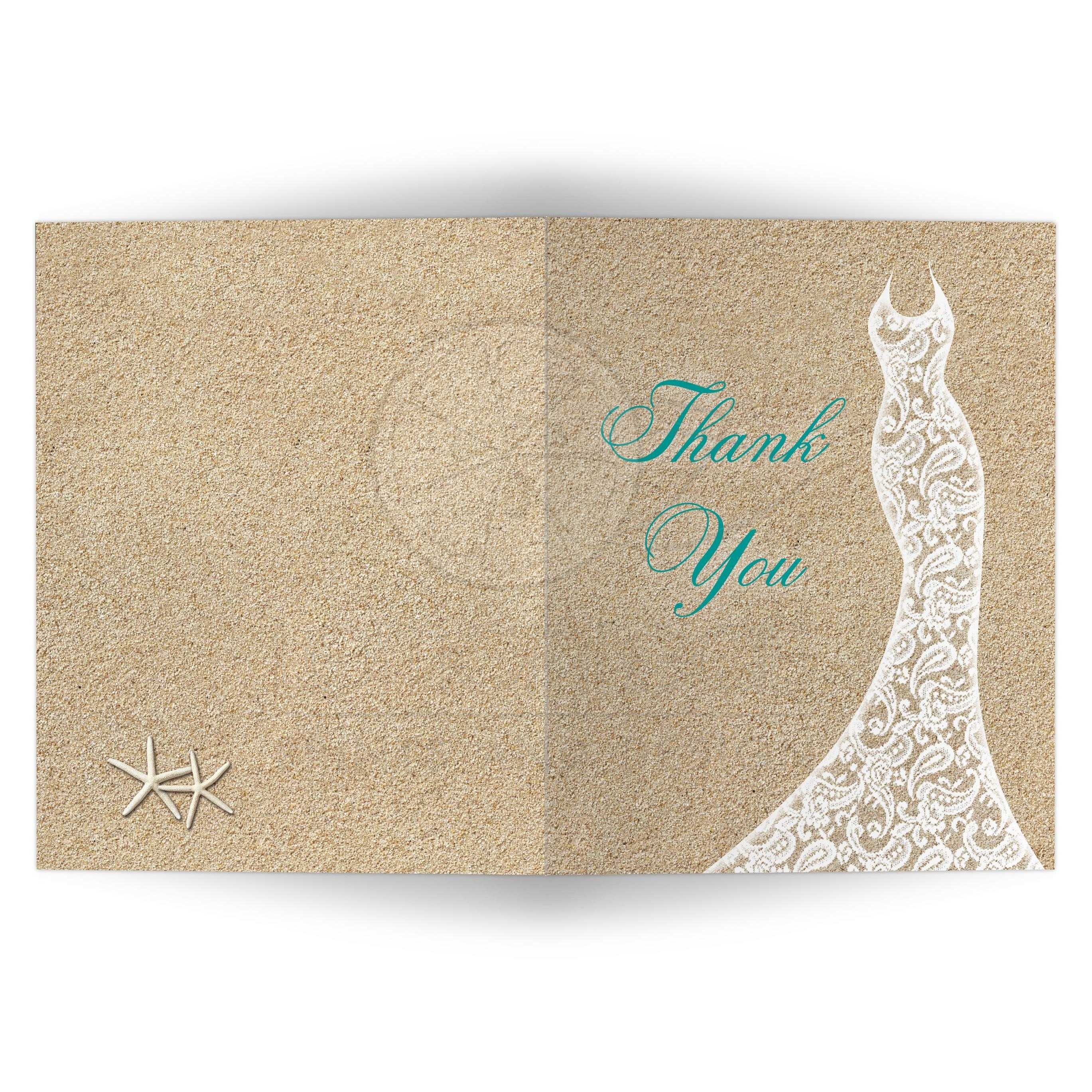 Endearing Turquoise Type Bridal Shower Thank You Card Beach Turquoise Vertical Bridal Shower Thank You Cards Examples Bridal Shower Thank You Cards Knot Beach Bridal Shower Thank You Card cards Bridal Shower Thank You Cards