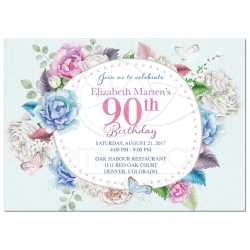 Small Crop Of 90th Birthday Invitations