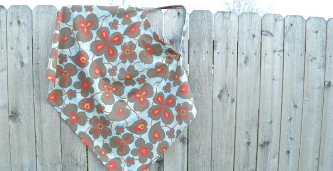 Nursing Cover in Amy Butler Morning Glory