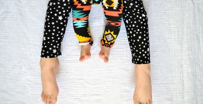aztec leggings, star leggings.  {kcw}