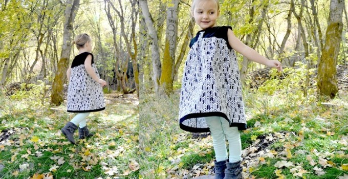Olivia Dress {CINO Pattern Review and GIVEAWAY!}