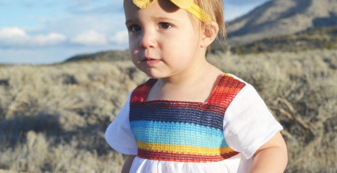 Mexican Baby Blouse (+ Free Pattern for size 12-18 months)