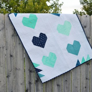 Heart Quilt // lemon squeezy home