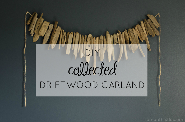 DIY Collected Driftwood Garland- Video Tutorial