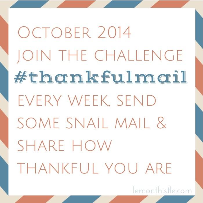 #thankfulmail Challenge