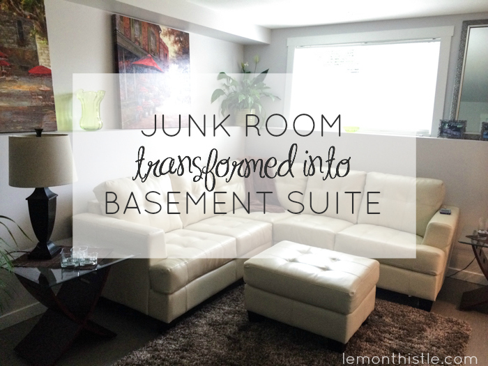 Junk Room to Basement Suite