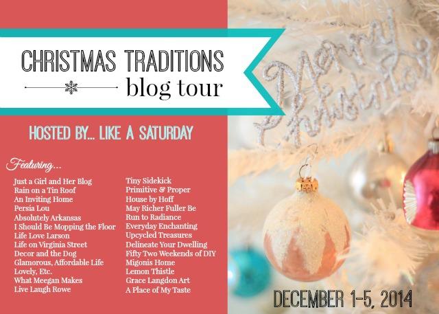 Christmas Traditions Blog Tour