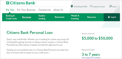 Citizens One Personal Loans Review: Is it a Good Option? | LendEDU
