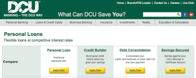 DCU Personal Loans Review - LendEDU