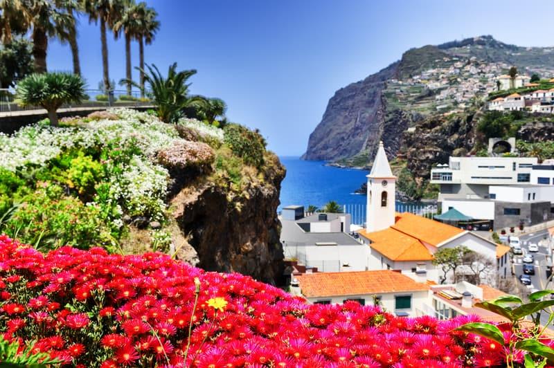 Camara de Lobos, a small fishing village on the Island of Madeira © Paulgrecaud | Dreamstime.com