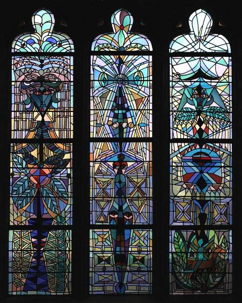 27)La triple baie du transept sud 1d
