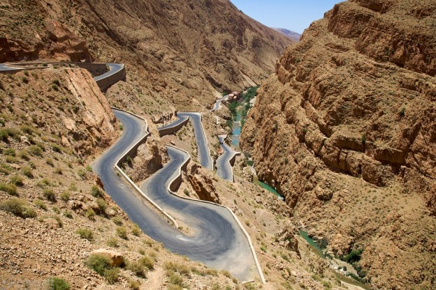 dades gorge / morocco