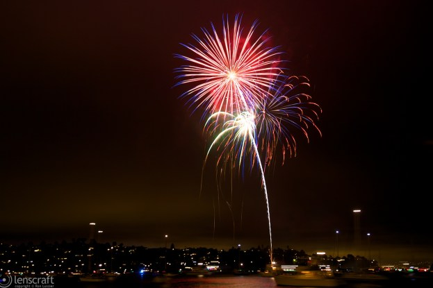 fireworks / sausalito, california