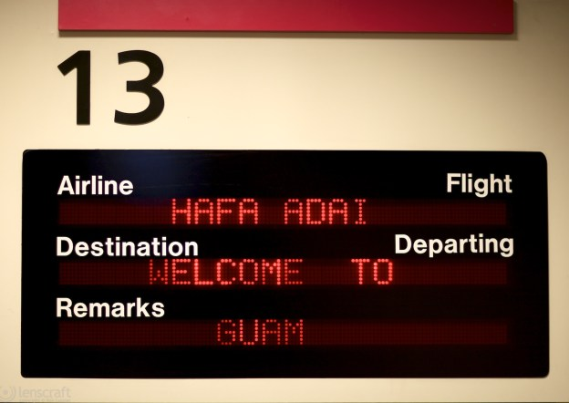 gate 13 / guam international airport