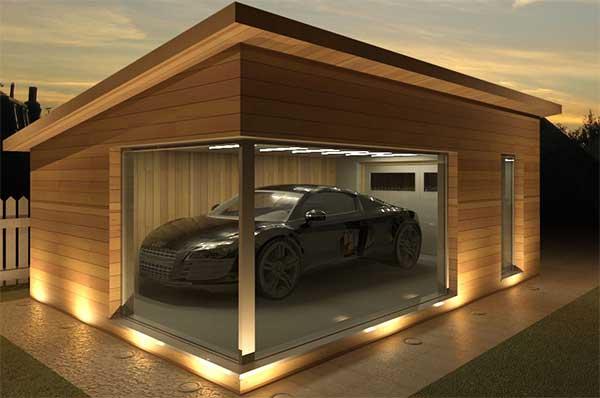 Menentukan Ukuran Garasi Mobil Yang Ideal