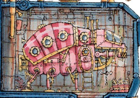 Captain Bilgebell's Treasure Ship Detail 3 WEB- Leo Hartas