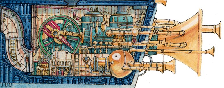 Captain Bilgebell's Treasure Ship Detail 4 WEB- Leo Hartas