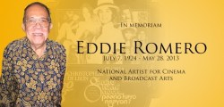 in memoriam - eddie romero - philippines national artist for cinema and broadcast arts
