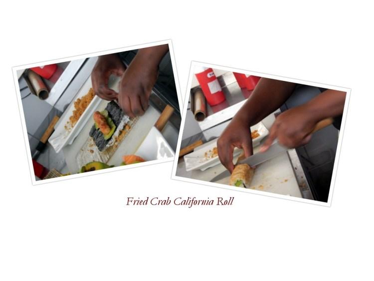 fried crab california roll