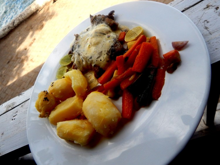 Fish meuniere with parsley potatoes