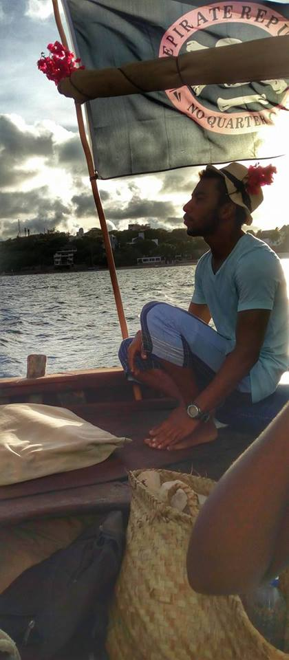 Jabir, our crew during the dhow cruise