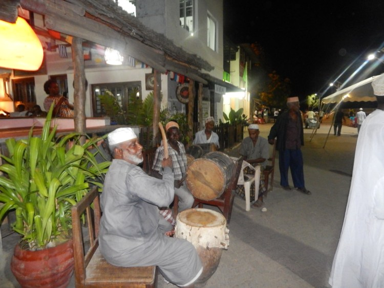 some lovely music along the Seafront outside where we had dinner