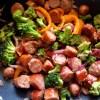 sausage-broccoli-stir-fry-leotunapika