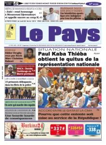 LE JOURNAL DU  08/02/2016